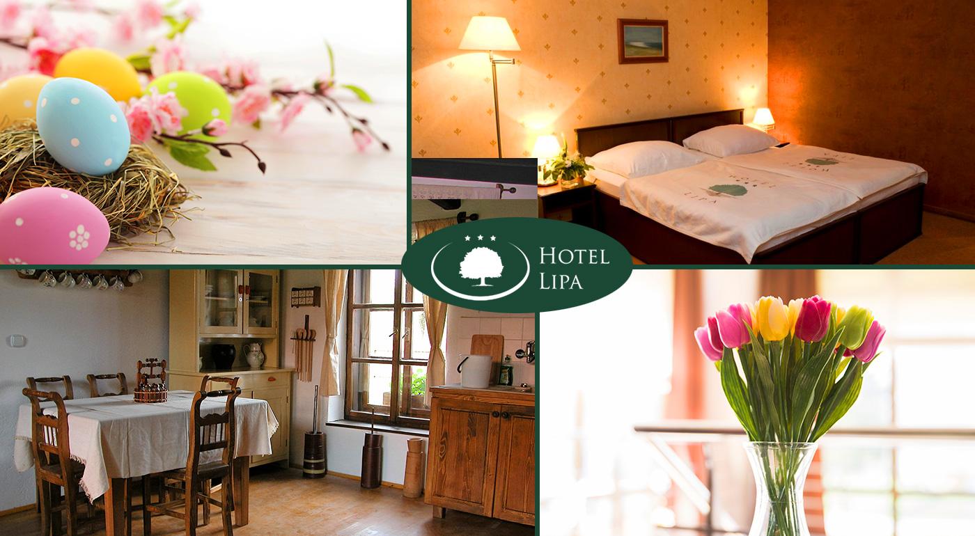 Sviatky jari vo dvojici v Hoteli Lipa*** v Starej Turej s polpenziou, sviatočnou veselicou a romantickou atmosférou