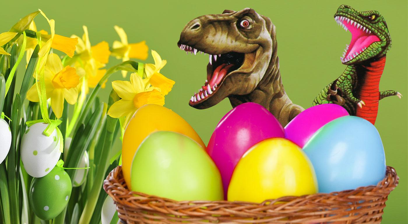 Pestrofarebné dinosaurie vajcia - originálna výslužka pre malých šibačov