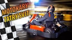 Zľava 31%: Zažite šialenú jazdu plnú adrenalínu na motokárach len za 3,39 € na 8 minút v hale Motokáry Tatry Svit. Otestujte svoju obratnosť v zákrutách pri vysokej rýchlosti a rozdajte si to so svojou partiou!