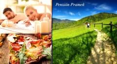 Zľava 35%: Oddychujte na Liptove po celý rok! Postará sa o vás útulný Penzión Prameň už od 50 € na 3 alebo 4 dni. V cene sú zahrnuté výborné raňajky, pizza alebo masáž a wellness! Deti do 3 rokov zadarmo.