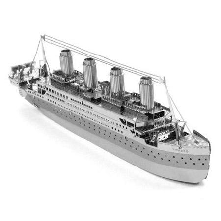 3D kovové puzzle - Titanic
