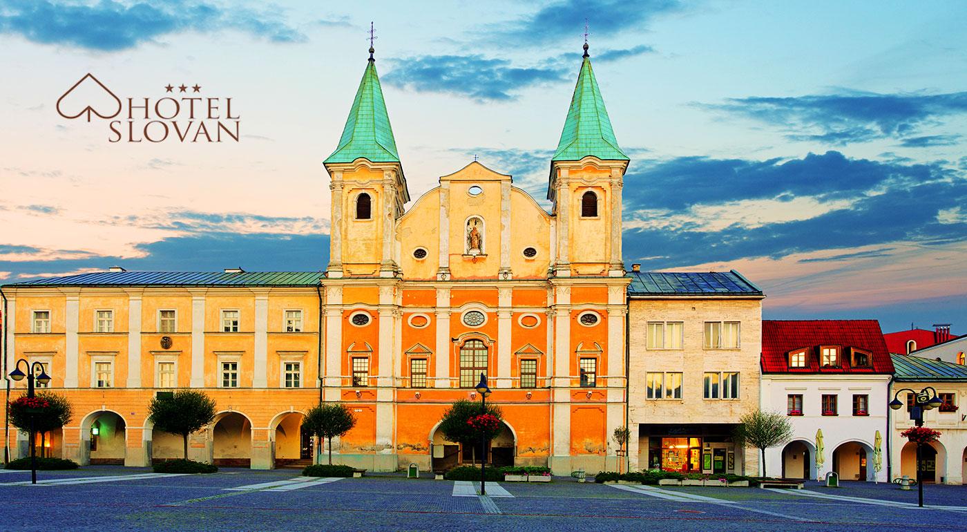 Fotka zľavy: Pobyt v príjemnom hoteli Slovan*** v centre Žiliny na 3 dni už od 39 €. Ideálna poloha a raňajky v cene!