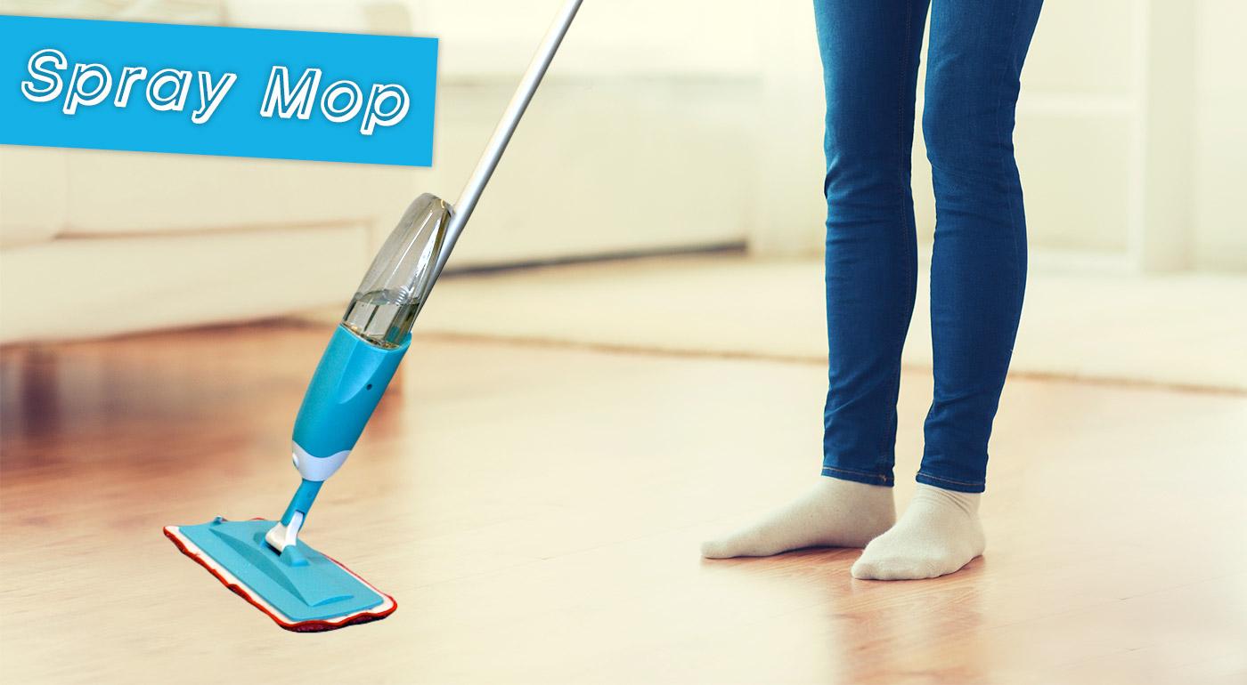 Zjednodušte si upratovanie - praktický pomocník Spray Mop