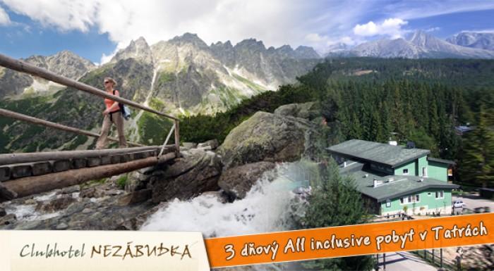 Fotka zľavy: All inclusive pobyt v Tatranskej Štrbe vo Vysokých Tatrách.