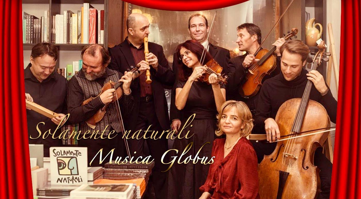 Vstupenky na koncert hudobného zoskupenia Solamente naturali s programom Musica Globus v Slovenskej filharmónii