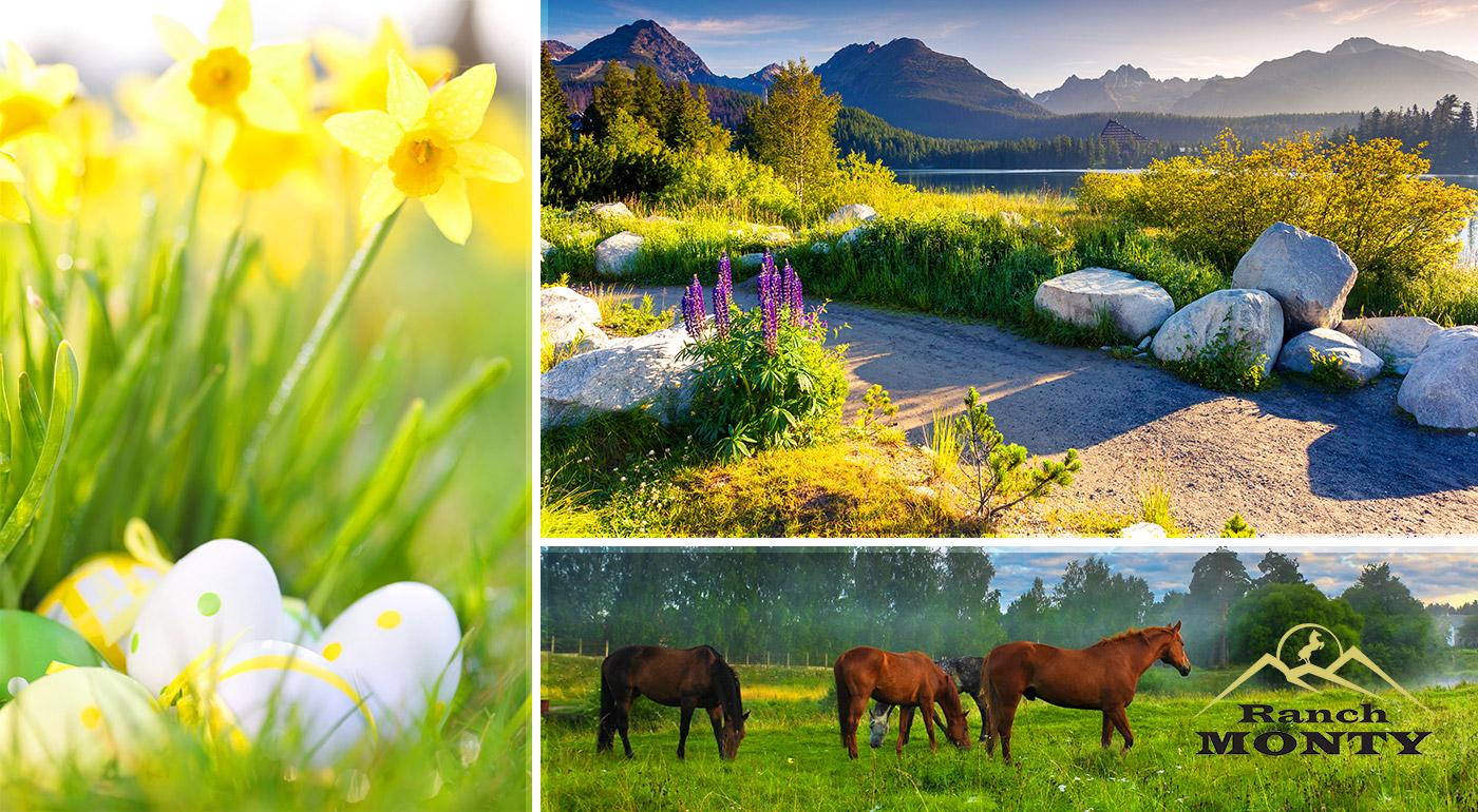 Veľkonočný relax v Penzióne Monty Ranch vo Vysokých Tatrách na 4 alebo 5 dní so zabíjačkou a ochutnávkou špecialít