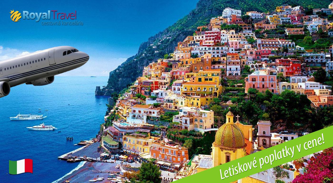 Fotka zľavy: Neapol, Capri, Vezuv, Pompeje, čarovné Amalfi a Positano len za 399 € vrátane letenky a všetkých letiskových poplatkov s CK Royal Travel.