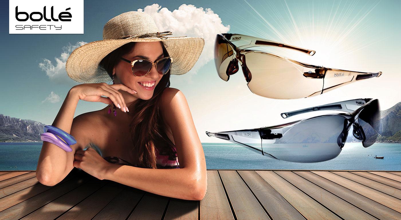 Štýlové a pohodlné športové okuliare Bollé BANDIDO a Bollé RUSH TWILIGHT