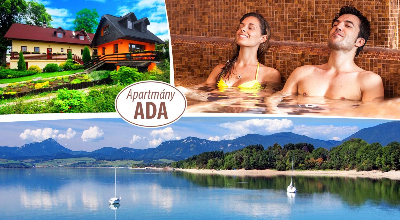 Fotka zľavy: Ničnerobenie i aktívny relax na Liptove pre 2 alebo 4 osoby v apartmánoch ADA alebo v samostatných chatkách Aquatherm už od 49 €. Deti do 6 rokov ubytovanie zadarmo!
