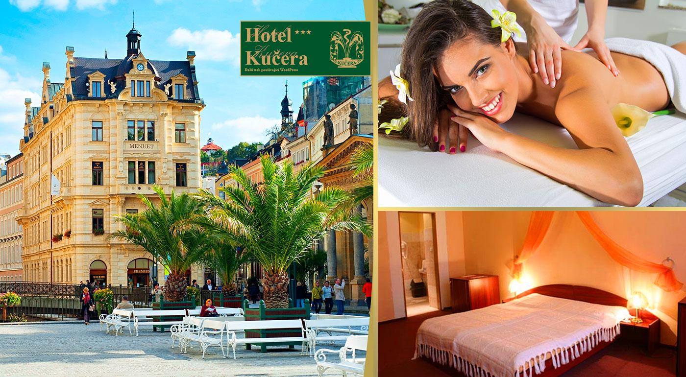 Fotka zľavy: Jarný relax v najznámejších českých kúpeľoch Karlove Vary v Hoteli Kučera*** už od 37 € pre dvoch na 2, 3, 4 alebo 5 dní s bohatými raňajkami. Na výber i varianty s wellness či masážami a zábalmi!