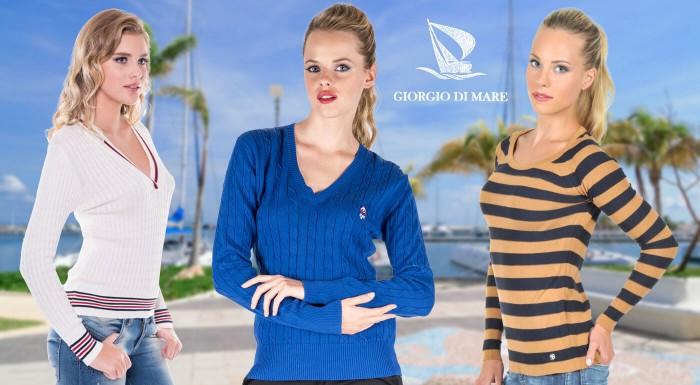 Fotka zľavy: Luxusné dámske svetre svetovej značky Giorgio Di Mare už od 39 €. Podľahnite kúzlu španielskej kvality s dlhoročnou tradíciou. Vyberte si jeden z 3 modelov v rôznych farbách. Poštovné zdarma!