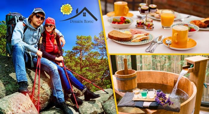 Fotka zľavy: Jar a leto v prostredí očarujúcich lesov Kremnických vrchov v Penzióne Horec - Králiky už od 65 € pre dvoch s raňajkami či polpenziou. Variant aj s masážami či relaxom v kúpacom sude!