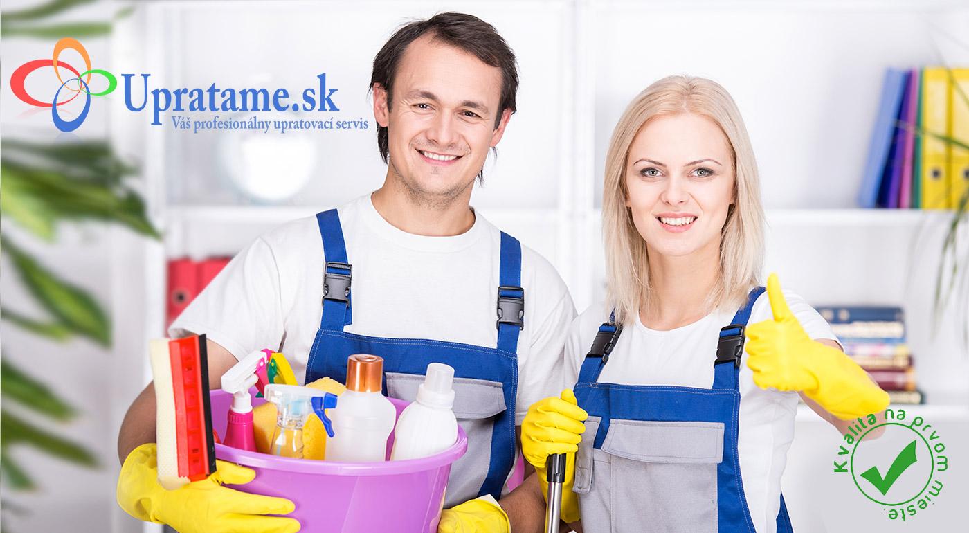 Kompletné jarné upratovanie vrátane umytia okien s firmou Upratame.sk