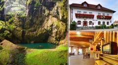 Zľava 46%: Nájdite vo dvojici stratenú harmóniu vďaka oddychu na Morave. Obdivujte krásy jaskýň, priepastí, zámkov i prírody!