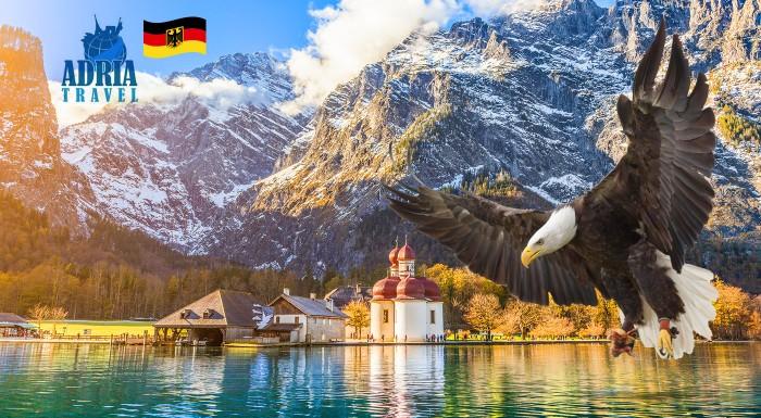 Fotka zľavy: Poznávací zájazd do nemeckého národného parku Berchtesgaden s návštevou Orlieho hniezda a plavba po nádhernom jazera Königssee len za 39,90 € pre 1 osobu so sprievodcom a zákonným poistením CK.