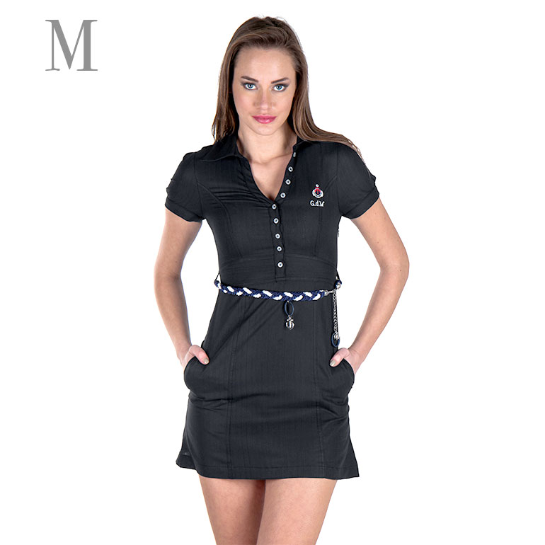 Dámske šaty Giorgio Di Mare s krátkym rukávom: model 1 veľkosť M