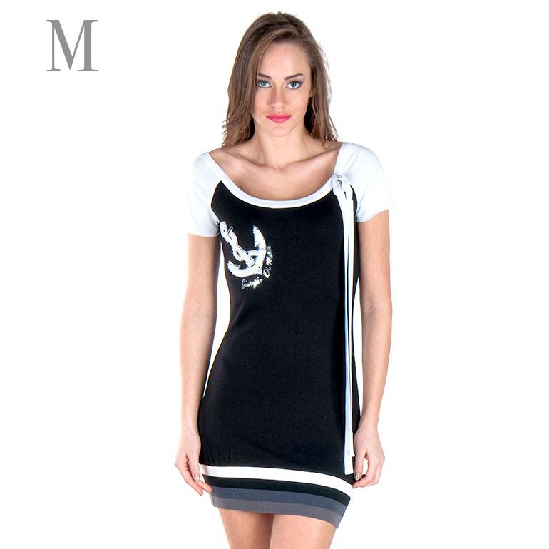 Dámske šaty Giorgio Di Mare s krátkym rukávom: model 3 veľkosť M