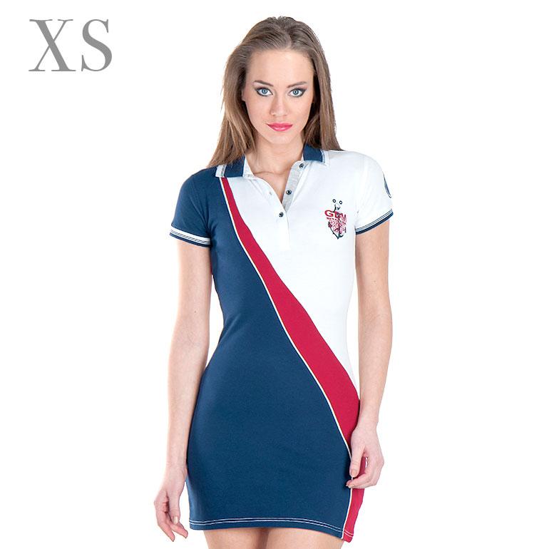 Dámske šaty Giorgio Di Mare s krátkym rukávom  model 5 veľkosť XS 2d01c4b9a59