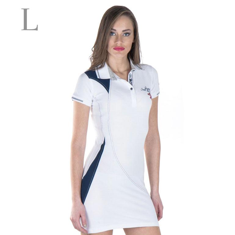 Dámske šaty Giorgio Di Mare s krátkym rukávom: model 7 veľkosť L