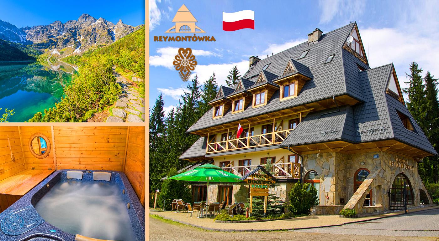 Fotka zľavy: Doprajte si jarný oddych na poľskej strane Tatier už od 79 € - 3, 4 alebo 6 dní v Penzióne Reymontówka*** pre 2 osoby s raňajkami alebo polpenziou a neobmedzeným vstupom do sauny a jacuzzi!