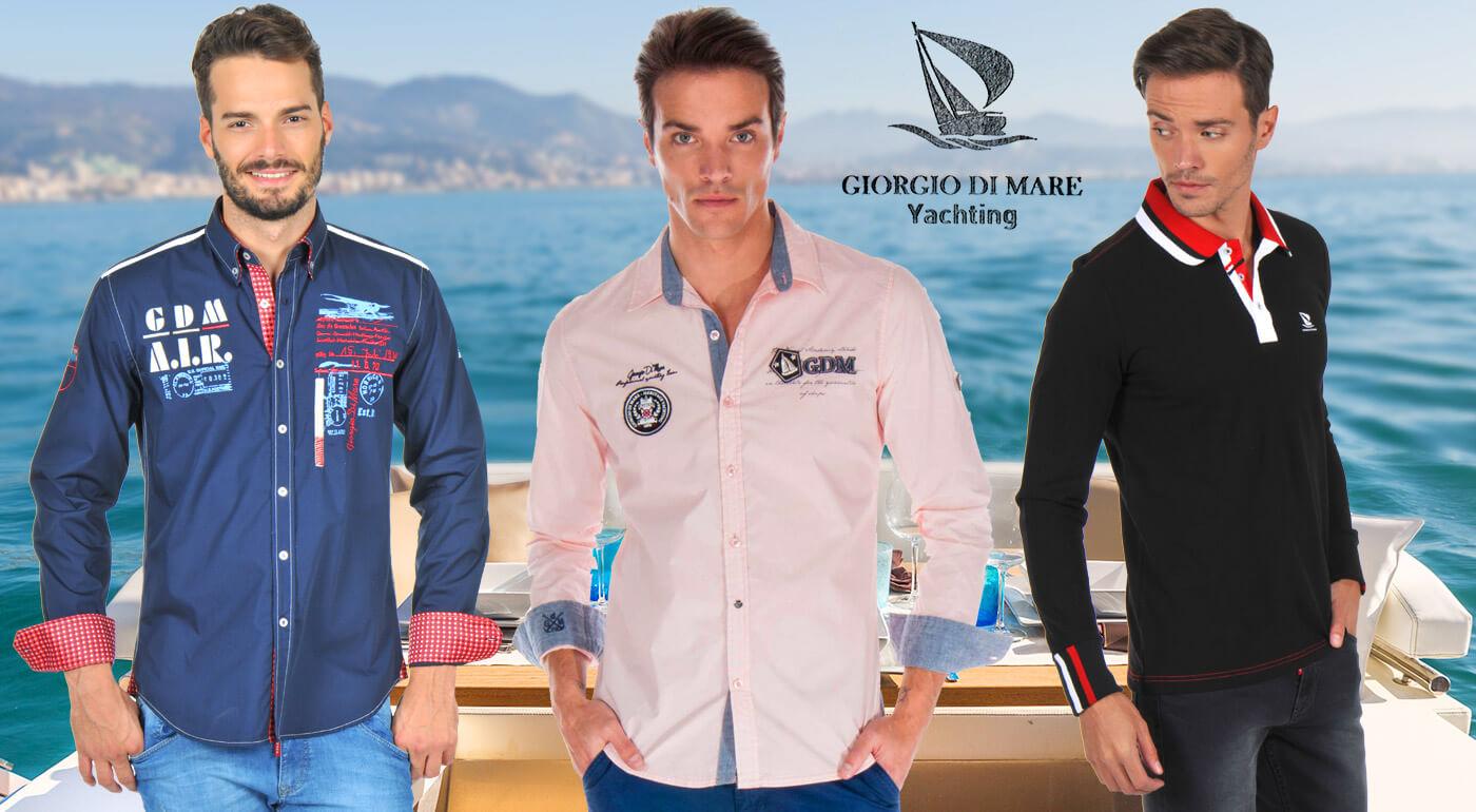 Pánske košele a polokošele Giorgio Di Mare - luxusný dizajn a prvotriedna kvalita