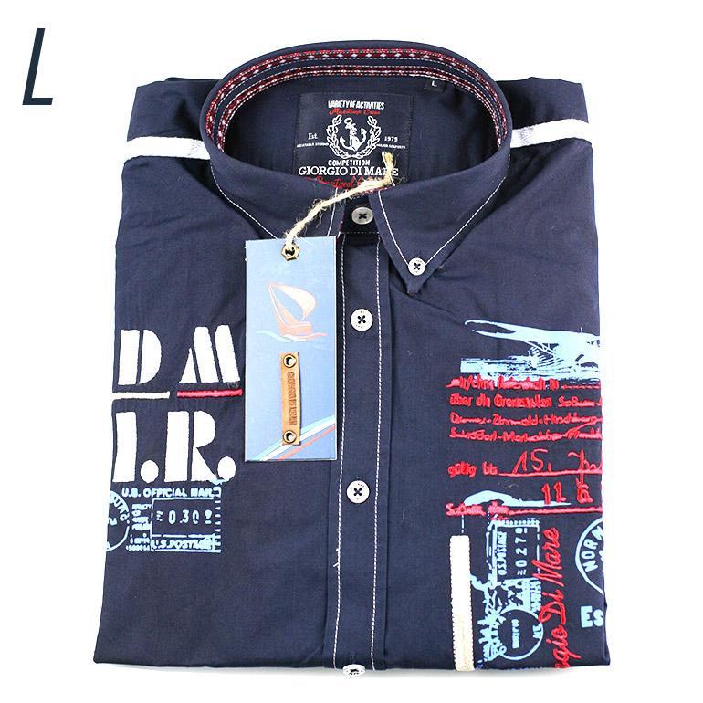 d5fb80688c8f Pánska košeľa s dlhým rukávom Giorgio Di Mare