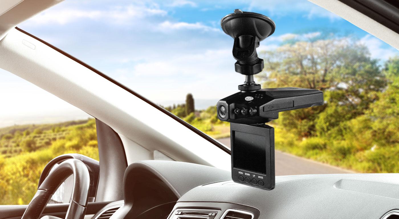 Mini HD kamera do auta s nočným videním