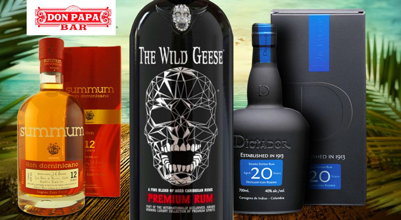 Neopakovateľný zážitok exotických chutí v Don Papa - ochutnávka svetového výberu 8 prémiových rumov