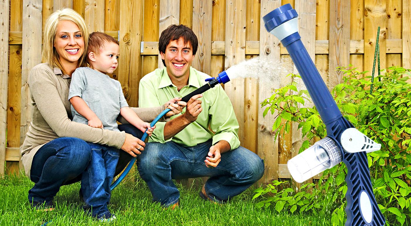 Viacúčelové tlakové vodné delo pre starostlivosť nielen o vašu jarnú záhradku