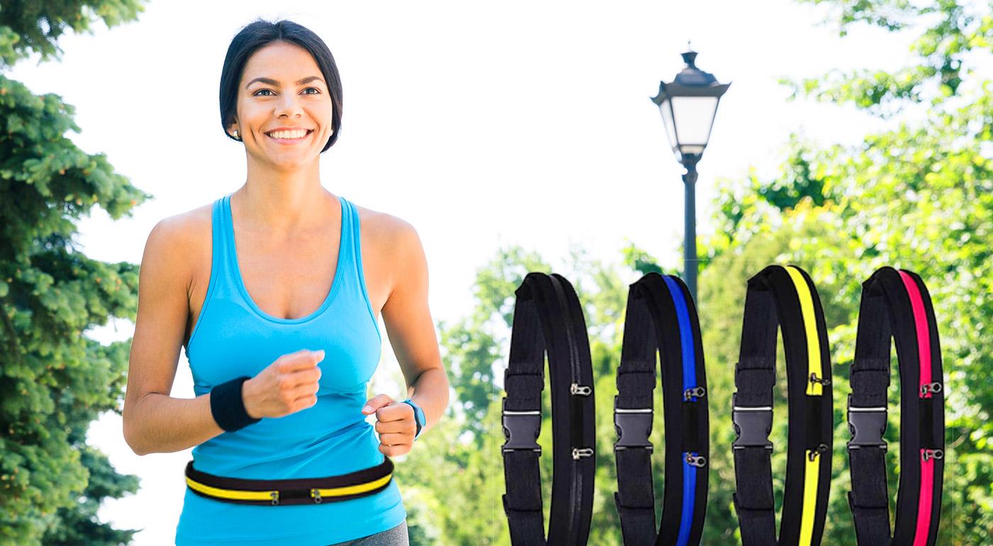 Praktický športový pás s moderným dizajnom v 4 farbách!