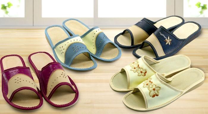 Fotka zľavy: Štýlové dámske papuče pre vaše domáce pohodlie len za 5,90 €. Vyberte si z 8 atraktívnych modelov a šiestich rôznych veľkostí tie svoje!