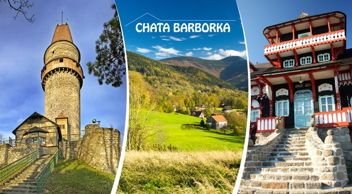 Fotka zľavy: Parádny oddych s turistikou či výletom za pamiatkami v okolí na Morave v Chate Barborka už od 29,90 € s polpenziou na 3 alebo 4 dni.