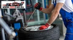 Zľava 52%: Využite akciu na prezutie pneumatík a kompletné vyváženie oceľových alebo hliníkových diskov. Ak máte málo miesta, v pneuservise INDICAR pri Kuchajde vám pneumatiky radi uskladnia.