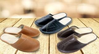 Zľava 63%: Pohodlné papuče potešia každého muža! Doprajte tomu svojmu ešte lepšie domáce pohodlie teraz len za 5,90 €. Na výber máte až 5 trendy modelov!