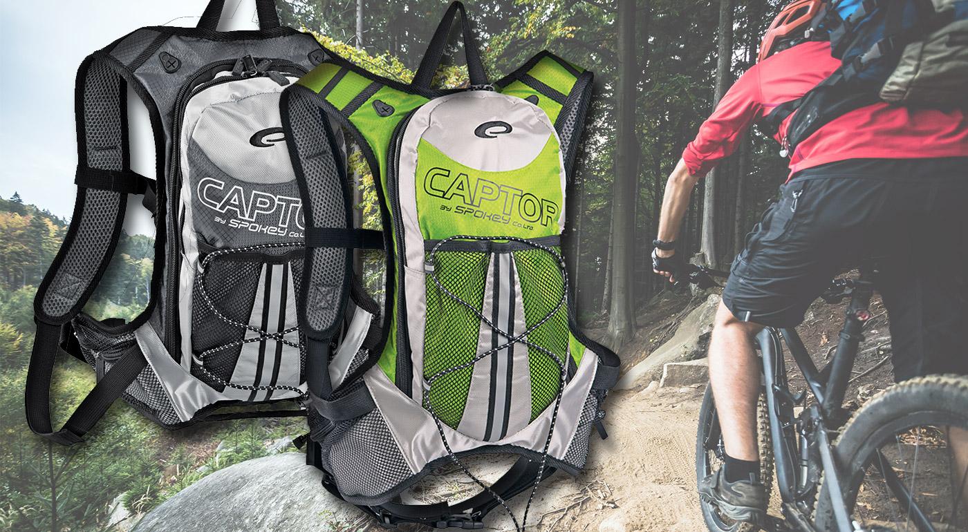 Športové batohy CAPTOR v dvoch farebných prevedeniach