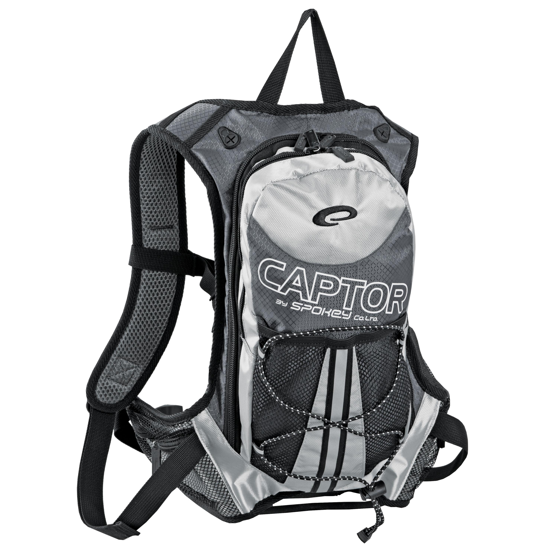 Captor cyklistický batoh šedo-strieborný