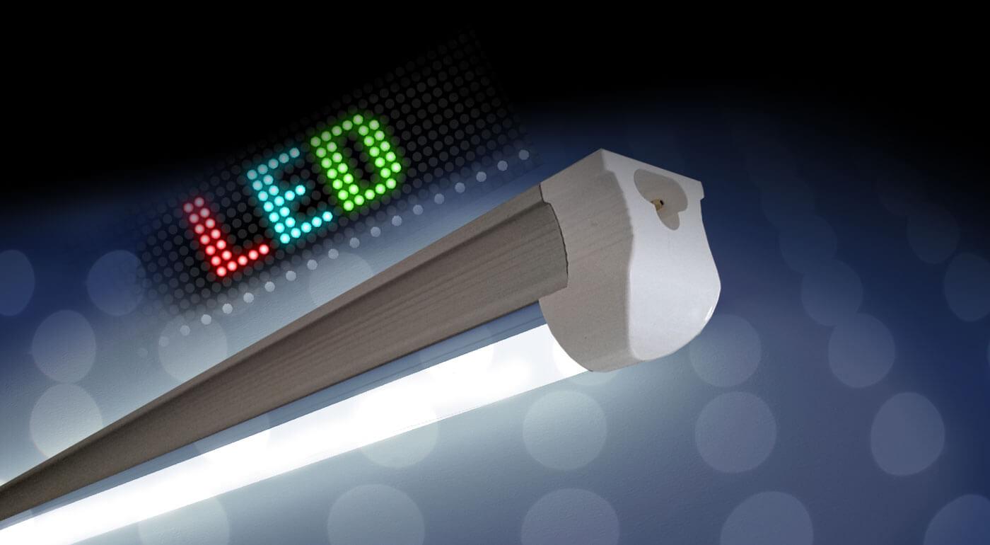 """Fotka zľavy: Integrované LED trubice už od 16,98 €. Na výber v 4 rozmeroch v prírodnej alebo studenej bielej farbe. Ušetrite na platbách za elektrickú energiu s novými LED trubicami takmer """"zadarmo""""!"""