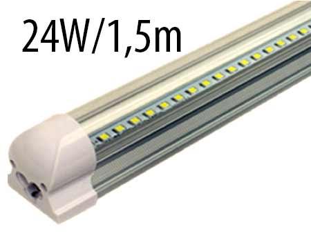 T8 LED trubicové svietidlo 24 W / 1,5 m, prírodná biela