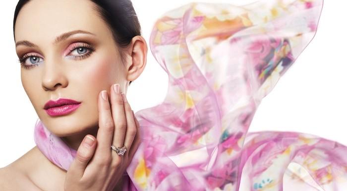 Fotka zľavy: Dámska elegantná hodvábna šatka