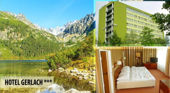 Fotka zľavy: Vychutnajte si Vysoké Tatry ako na dlani počas pobytu v popradskom Hoteli Gerlach*** už od 22 € vrátane raňajok, neobmedzeného vstupu do fitness i zľavy do Aquacity Poprad! Dieťa do 3 rokov zadarmo.