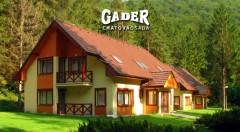 Zľava 43%: Načerpajte energiu v prírode Veľkej Fatry a ubytujte sa v Chatovej osade Gader. Už od 69 € si budete môcť pochutnať na polpenzii i užívať fantastické chvíle v saune!