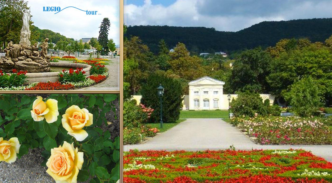 Fotka zľavy: Navštívte park kláštora Heiligenkreuz a festival Dni ruží počas 1-dňového zájazdu v rakúskom Badene len za 18,90 €. Obdivujte históriu mesta a ruže, ktoré vás omámia svojou krásou i vôňou.