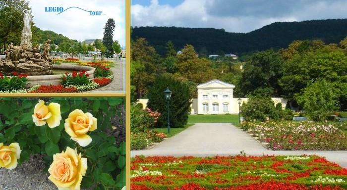Fotka zľavy: Navštívte park kláštora Heiligenkreuz a festival Dni ruží počas 1-dňového zájazdu v rakúskom Badene. Obdivujte históriu mesta a ruže, ktoré vás omámia svojou krásou i vôňou.