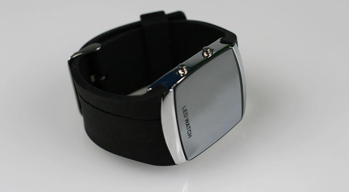 Športovo-elegantné digitálne LED hodinky pre pánov  ffa0d7c033d
