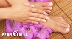 Zľava 50%: Ulahoďte svojim nohám a zrelaxujte počas profesionálnej pedikúry len za 7,50 € v Profipedi v Bratislave. Rozžiarte vaše sandálky udržiavanými nôžkami hebkými na dotyk!
