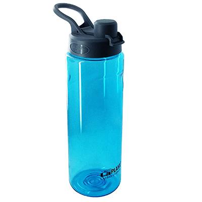 Trendy športová EKO fľaša s objemom 750 ml - modrá farba
