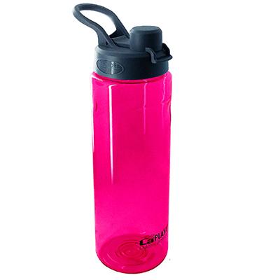 Trendy športová EKO fľaša s objemom 750 ml - ružová farba