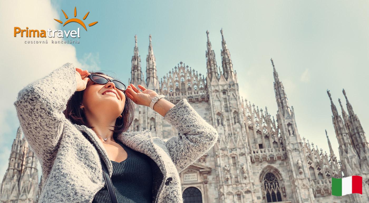 Štýlové Miláno a kúpanie na Benátskej riviére v centre Lido di Jesolo