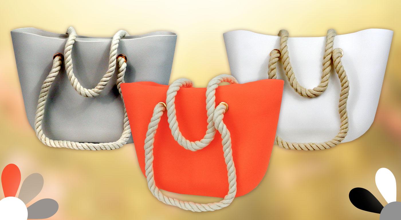 Luxusné dámske silikónové kabelky