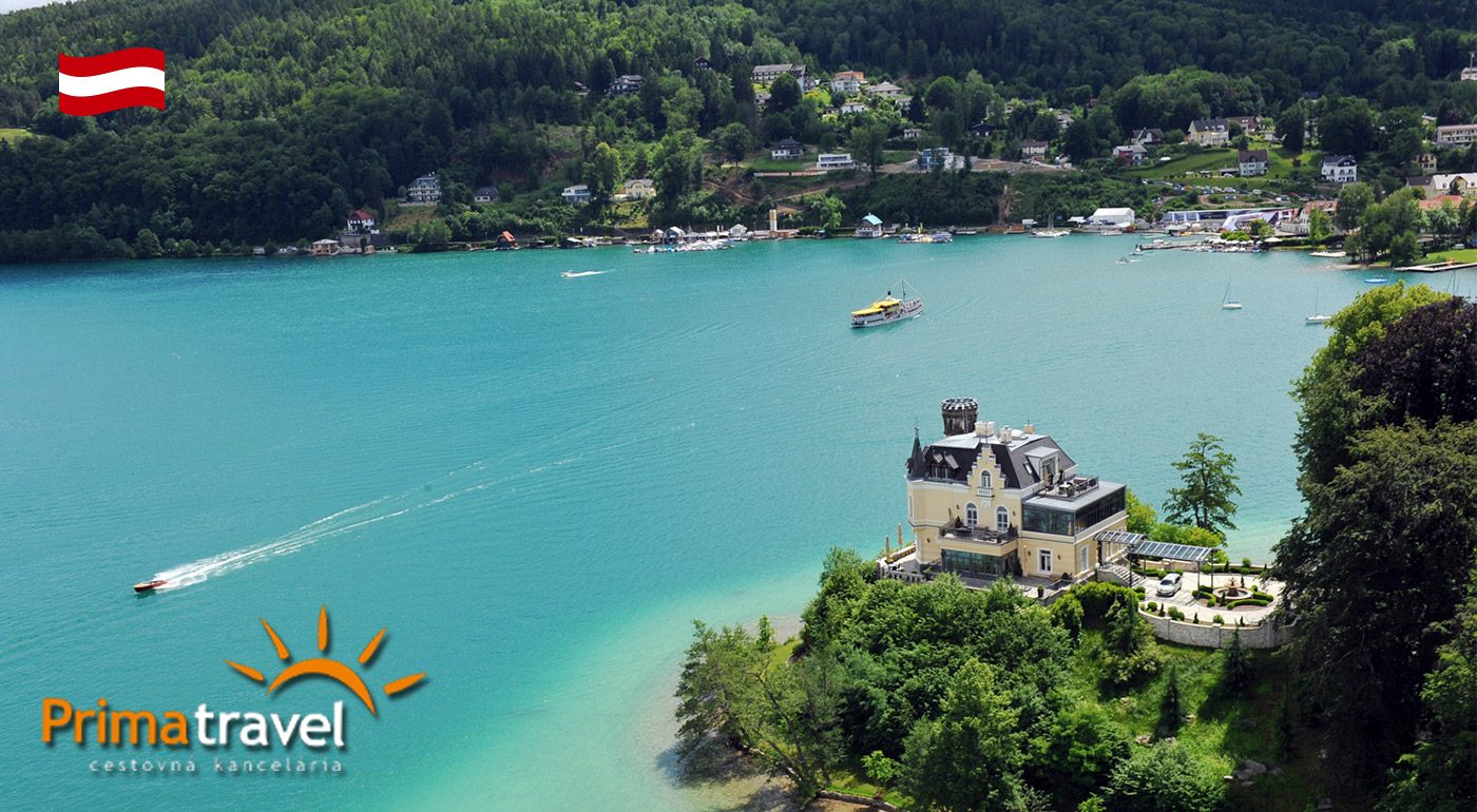 Fotka zľavy: Víkendový autobusový zájazd do rakúskeho Grazu a k jazeru Wörthersee len za 109 € so sprievodcom a ubytovaním s raňajkami. Objavte, čím žije druhé najväčšie mesto Rakúska a jazero tamojšej smotánky!
